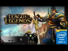 #League Of #Legends Very High Gameplay as Garen Character on the #Alienware Alpha i3 4GB Ram 500GB