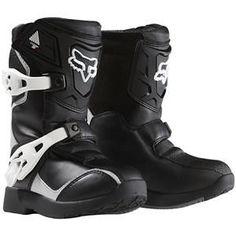 Fox Racing Pee Wee Comp 5K Boots - Black