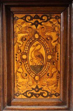 Exceptional Baroque Marquetry Court Cupboard. German, Circa 1600 image 4