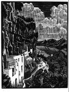 M.C. Escher - 1931. WikiPaintings.org
