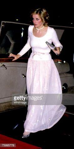 princess diana starlight express   News Photo : Princess Diana at musical 'Starlight Express' at...