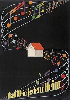 Radio by Gérard Miedinger (1946)