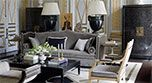 On a Grand Scale: A Home in India by Jean-Louis Deniot - Internationally Inspired Elegant Living Room, Living Room Grey, Living Rooms, Vase, Drawing Room, Elle Decor, Shabby Chic Decor, French Antiques, Inspiration