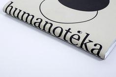 Humanotéka, Identity & Book on Behance