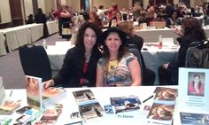 Book signing with Jordan K Rose at RT Booklovers convention 2012