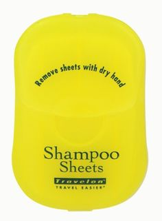 Travelon Shampoo Sheets