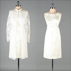 Vintage 1960s Dress and Jacket  2 Pc Wedding by millstreetvintage, $265.00
