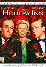Holiday Inn : the song White Christmas was 1st featured in this movie...it became an instant hit.  Also, the hotel chain, Holiday Inn was born from this movie...