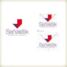Desarrollo de marca e imagen institucional Señaletik, distinguida con el Sello de Buen Diseño argentino 2014.