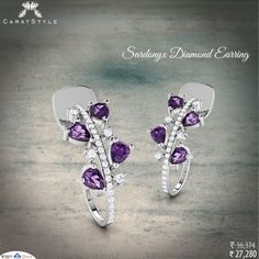 #‎Earrings‬ Compliment this beauty and accentuate a woman's personality. #‎diamond‬