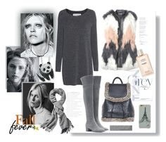 """""""Grey Zone"""" by ildiko-olsa ❤ liked on Polyvore featuring Fine Collection, rag & bone, Gianvito Rossi, Rebecca Taylor and Echo Design Group"""