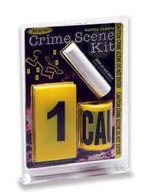 Crime Scene Kit http://www.spirithalloween.com/decor_props-accessories/page4/