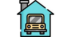 Garage free vector icon designed by Freepik