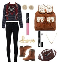 """""""Football game"""" by earthgirl2002 ❤ liked on Polyvore featuring interior, interiors, interior design, home, home decor, interior decorating, Ström, Charlotte Russe, Sydney Evan and T-shirt & Jeans"""