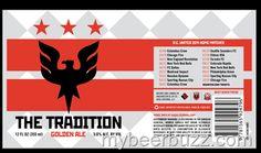 mybeerbuzz.com - Bringing Good Beers & Good People Together...: DC Brau / DC United Soccer - The Tradition Golden ...