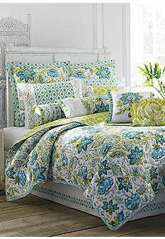 Merveilleux Dena™ Home Bedding Available At Belk. Blue And Green Ikat Floral Comes  Together To