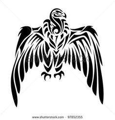 Image result for aztec condor tattoo