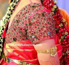 5 Mesmerizing Bridal Blouse designs for your Big Day #Ezwed #Bridal #Blouse…