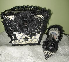 Martica Designs...purse and shoe papercraft