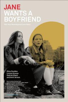 'Jane wants a boyfriend' | Movie poster design