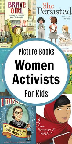 Now more than ever, it's important for our children to read about women activists! It's critical we teach our children to make their voice heard. Book Writer, Writing A Book, Interactive Read Aloud, Feminist Books, Best Children Books, Women's History, Chapter Books, Writing Services, Great Books