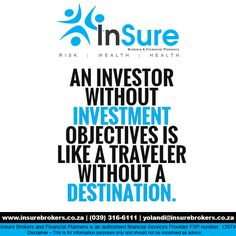 Insure Brokers offer FREE in-depth investment consultations #Investments http://bit.ly/1HE5W3P