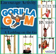 Gorilla Gym Giveaway 12/11 ~ Tales From A Southern Mom