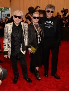 Debbie Harryattend the Costume Institute Gala for the