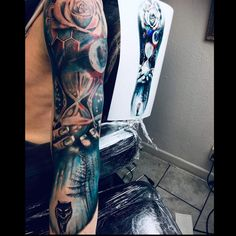 Tattoo competition page for Best Arm Sleeve Tattoos