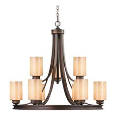 Found it at Wayfair - Russell Farm 9 Light Chandelier