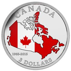 Royal Canadian Mint Celebrates Anniversary Of The Canadian Flag With Gold/silver Coins - Coin Community Forum - POSPO Investments Nova Scotia, Parks Canada, Canada Eh, Toronto Canada, Canadian Things, Gold And Silver Coins, Canadian History, Coins For Sale, Commemorative Coins