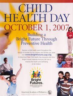 Child Health Day, 2007