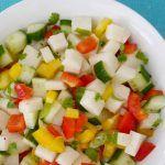 Jicama Salad - Step Away From The Carbs