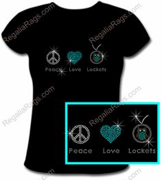 Rhinestone Tshirts, Origami Owl Business, Owl Shirt, Meaningful Jewelry, Origami Owl Jewelry, T Shirt Transfers, Cheap Jewelry, Tee Design, Peace And Love