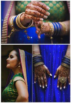 Read this blog post for posing ideas, henna and sari inspiration, and more!  #henna #saris #indianfashion #kentuckybrides Bridal Looks, Bridal Style, Posing Ideas, Saris, Indian Bridal, Indian Fashion, Henna, Bangles, Poses