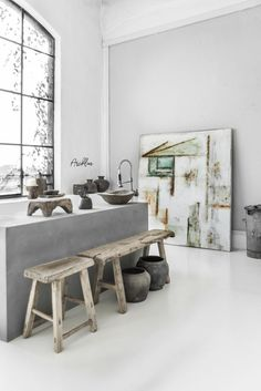 SABINE MAES ART (13) – PORTFOLIO | Paulina Arcklin Photography + Styling Bohemian House, Shabby, Art Design, Wabi Sabi, Interior Design Living Room, Interior Inspiration, Decoration, Interior And Exterior, Home Goods