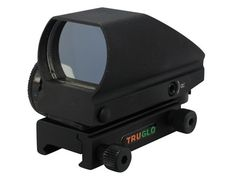 TRUGLO Tru-Brite Reflex Red Dot Sight Red and Green 4-Pattern Reticle (2.5 MOA Dot, 5 MOA Dot, 2.5 MOA Circle Dot, 5 MOA Circle Dot) with In...