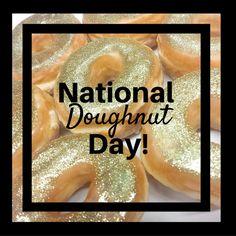 Glitter #dougnuts please. #NationalDoughnutDay