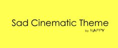 Sad Cinematic Theme - sad cinematic track. Perfect for your media projects. #sadmusic #cinematicmusic