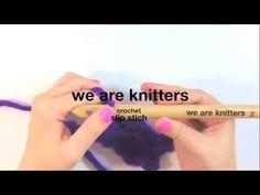 ¿Cómo hacer punto raso en crochet? - Aprender crochet - YouTube