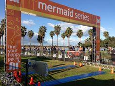 Mermaid finish line