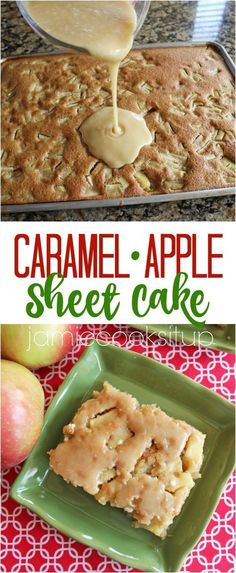 If you only try one new fall recipe this season, my friends…please try this one. It is beyond scrumptious and is really so very easy. The cake is super moist and flavorful, studded with tende… #Jamie'scookingtips