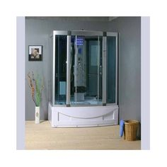 Corner Shower with Computer control panel