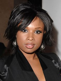 """Why Guys Love It: Jennifer Hudson shows off her neck and frames her face with this short bob. """"Short and choppy, the new bob accentuates your cheekbones and eyes,"""" says celeb stylist Oscar Blandi. How to Get It: Start with a protective styling spray to maintain shine like Got2b Guardian Angel Protect N' Blow Out Lotion and Gloss Finish, $5.99, drugstore.com. Then, divide hair into two-inch sections and blow-dry straight. Finish by using a flat-iron to flip out your ends slightly…"""