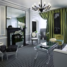 Old Hollywood Glamour Design, Pictures, Remodel, Decor and Ideas
