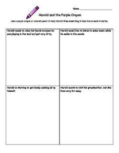 harold and the purple crayon summary
