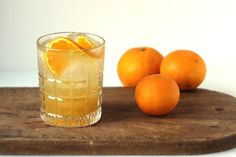 Bourbon, Ginger, Orange