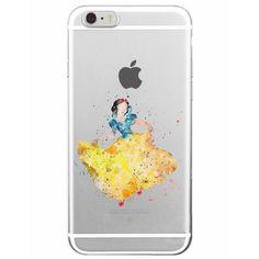 Disney Aquarelle Snow White iPhone Case - FREE Shipping