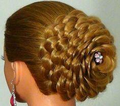 multible braids in bun - womenbeauty1