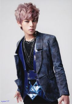 Daehyun, i like his hair color :p